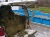 5 Isolering och glas slängs på bubbetorp