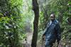 Min guide, Christoffer när jag gick tretimmars turen i regnskogen