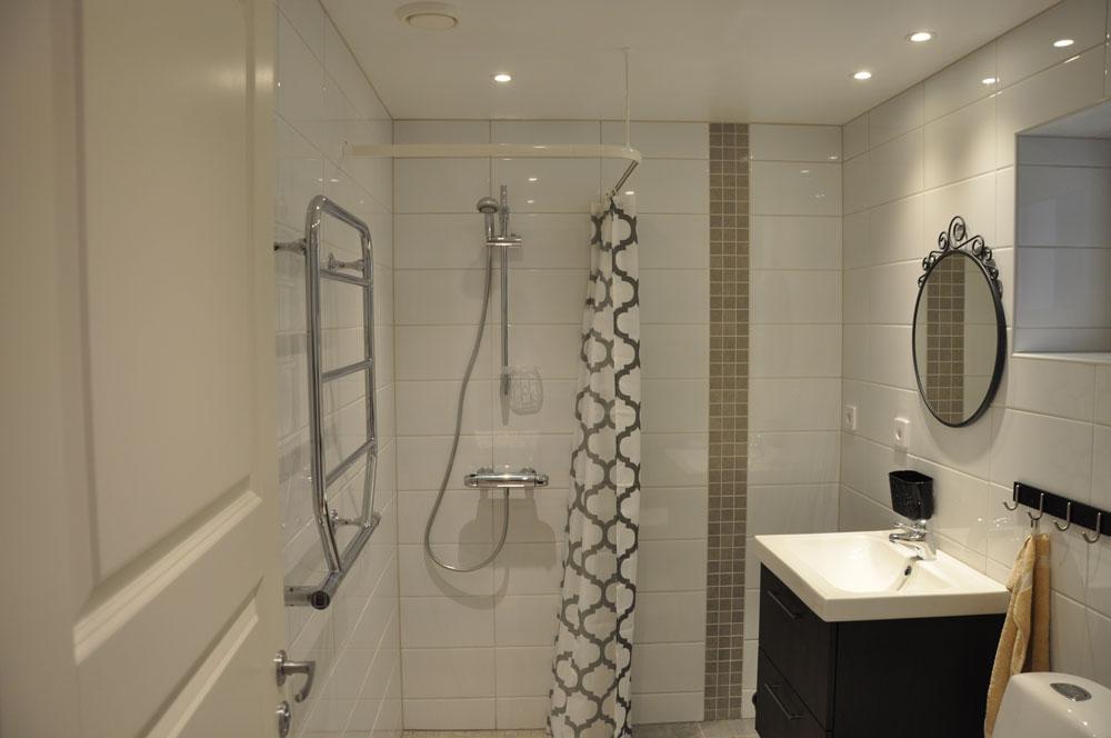Toaletten vänstra stugan
