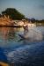 Hullingaskär i bakgrunden och Uffe och Jeanettes båt