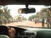 Med Telesphore i hans bil genom Butare