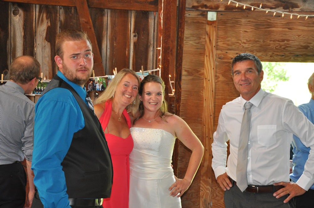 Janine och Steve´s Bröllop i Barrie norr om Toronto